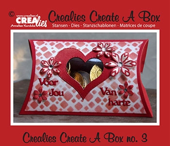 CREALies - CCAB03 - Pillow Box